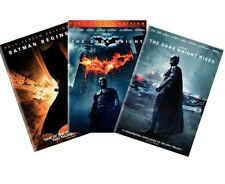 Dark Knight Trilogy Dvd 3-Pack (Batman Begins, Dark Knight, Dk Rises) New!