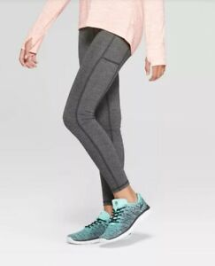 Champion C9 Girls Jacquard Performance Leggings with Pockets