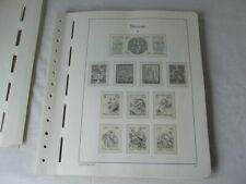 VATICAN 1982-95 LIGHTHOUSE ILLUSTRATED & HINGELESS STAMP ALBUM PAGES
