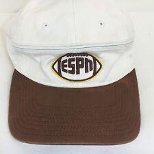 ESPN Football Cap Hat Convertible Cap Visor Zip-off Top Adjustable Disney WDW