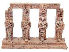 Antica FARAONE colonne ACQUARIO Ornamento Acquario Decorazione