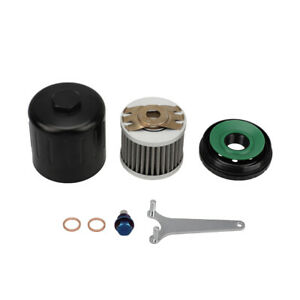 Magnetic Oil Fliter Sump Plug Stainless Steel Filter Fit for Honda Subaru Nissan