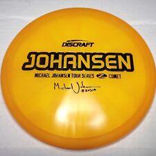 Discraft Michael Johansen Tour Series Z Comet 177+ Wonder Bread Stamp