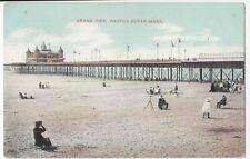 Somerset; Grand Pier, Weston Super Mare PPC, 1910 PMK To Mrs Simms, Reading