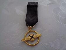 ^Luftwaffe Schlachtflieger Miniatur Orden 57er 15mm gold