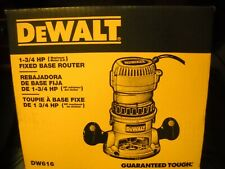DeWALT DW616 1-3/4 HP Fixed Base Woodworking Router NEW
