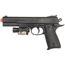 SPRING AIRSOFT PISTOL LED LASER SIGHT FLASHLIGHT HAND GUN AIR w/ 6mm BB BBs