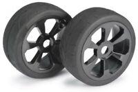 Absima Wheel Set Buggy 6 Spoke / Street Black 1:8 (2)2530008