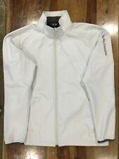 Salomon Women's Ski Snowboarding Softshell Jacket Fleece Lined Size XL White 465