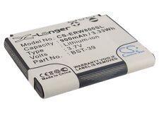 BATTERIA agli ioni di litio per Sony-Ericsson Z710i Z520i j110c Z520a W700c J100a J100c J100i