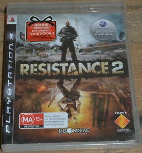 Resistance 3 (PS3, 2008) - PAL 4 - Complete in Case