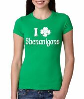Shenanigans T-shirt Funny St. Patrick's Day Ladies T-shirt