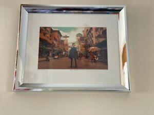 """Art photography by Hakan Celebi Akif """"Corpus Calllosum"""" YellowKornerframed"""
