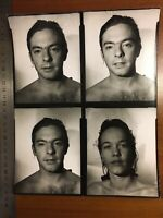 Thomas Ruff Original 1981 Contact Sheet Dusseldorf Rare Signed Portrait