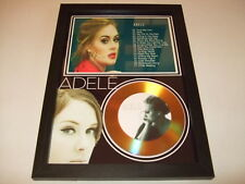 adele SIGNED  GOLD CD  DISC  1