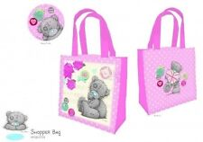 Tote Bag Tatty Me to You Teddy Pink Rose Union Jack Heart Shopper 24cm Child New