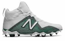 brand new f6901 a229b New Balance Male Men s Freezelx Lacrosse Cleat Adult Shoes White With Green