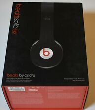 Genuine BEATS By Dr. Dre Solo HD Headphones Red Box EMPTY BOX ONLY