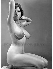 Julie Wills EARLY MODELING pic nude busty breasts print female photo art girl M1