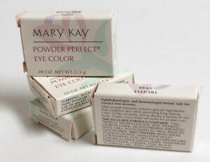 """NIB Mary Kay """"Powder Perfect"""" Eye Shadow Color - NEW in BOX - Choose Shade"""