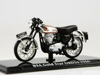 Scale model 1/24 Motorcycle BSA Gold Star DBD34