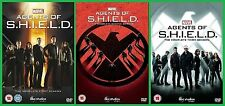 AGENTS OF SHIELD COMPLETE SERIES 1 2 3 DVD All Eps 1st 2nd 3rd Season Marvel UK