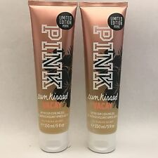2 Victoria's Secret Pink Sun Kissed Vacay After Sun Cooling Gel 5 fl.oz New