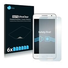 6x Savvies Screen Protector for Samsung Galaxy Core 2 G355H Ultra Clear