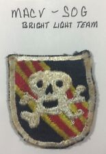 ORIGINAL VIETNAM WAR MACV SOG Bright Light Team SPECIAL FORCE  PATCH