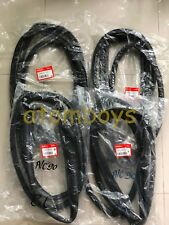 HONDA ACCORD SEDAN 4 FRONT REAR DOOR SEAL RUBBER WEATHERSTRIP 1989-1993