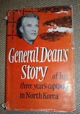 General Dean's Story 1st edition Hardback with Dust Jacket Korean POW