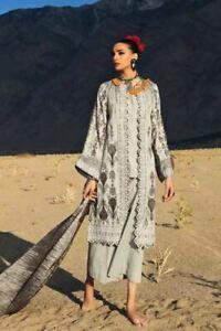 Gul Ahmed Winter 2019- Khaddar STITCHRED suit in Medium size