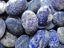 Cabujón piedra preciosa lapis grado C 30x40 mm (cantidad 4)