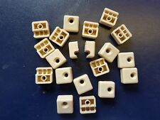 Wire clips, Cable tidy clips, Phone, Internet, Pc wire clips Pack 20   Beige