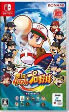 Powerful Pro Baseball Switch Konami Nintendo Switch From Japan