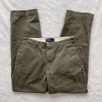 Polo Ralph Lauren Philip Pant Mens Chino Pants Gray Size 32 X 32
