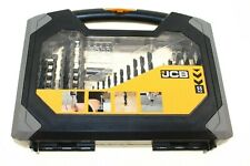 37957 JCB X 55 DRILL BIT SET MADE BY JCB NEW WITH A CASE BUILDERS CARPENTERS
