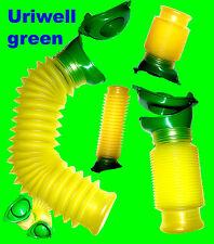 Doppelpack - sparen  -  Uriwell die mobile Toilette, Urinal, in grün Happy-Pi