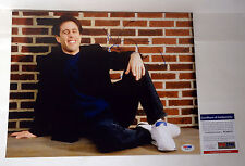 JERRY SEINFELD COMEDIAN SIGNED AUTOGRAPH 11X14 PHOTO PSA/DNA COA #W26070