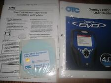 OTC3421-128 2010 Euro Software Update Kit Genisys Determinator Mentor Tech-Force