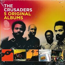 The Crusaders 5 Original Albums CD NEW Chain Reaction Free As The WInd Images