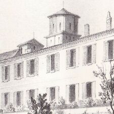 Abbaye Vertheuil Médoc Guyenne Aquitaine Gironde
