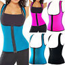 Thermo Sweat Hot Neoprene Body Shaper Slimming Waist Trainer Cincher Yoga Vest