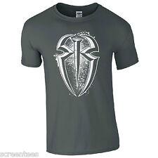 RR T-Shirt - Wrestler Roman Reigns Fan Inspired Unisex Kids Mens Gift Top