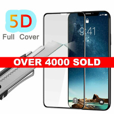 Apple iPhone X 10 5D Genuine Full Coverage Tempered Glass Screen Protector