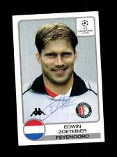 Edwin Zoetebier Feyenoord Rotterdam Panini SB Champions Leaque 2001-02 +A37373