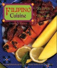 Filipino Cuisine: Recipes from the Islands Red Crane Gerry Gelle Hardback Book