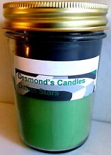 Desmond's Candles Homemade Scented Dallas Stars (Apple, Licorice) Soy Jar Candle