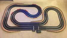 Scalextric Sport Layout with Lap Counter & 2 Cars / Fully Borded & Barriered