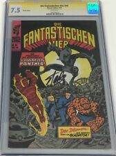 Fantastic Four #52 German Die Fantastischen Vier #48 Signed by Stan Lee CGC SS
